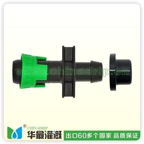 PVC管用拉扣旁通(带单层橡胶圈)